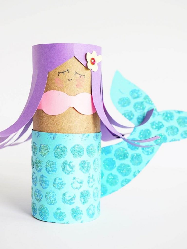 Step aside folks, the princess is here Mermaid Crafts Kids Will Love