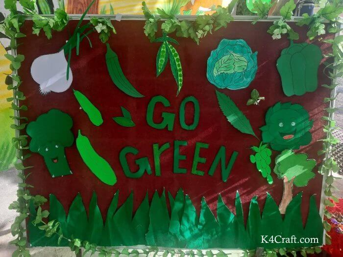 Green day crafts for kids, toddlers, preschool - DIY Classy Go Green Cartoon Craft For Children