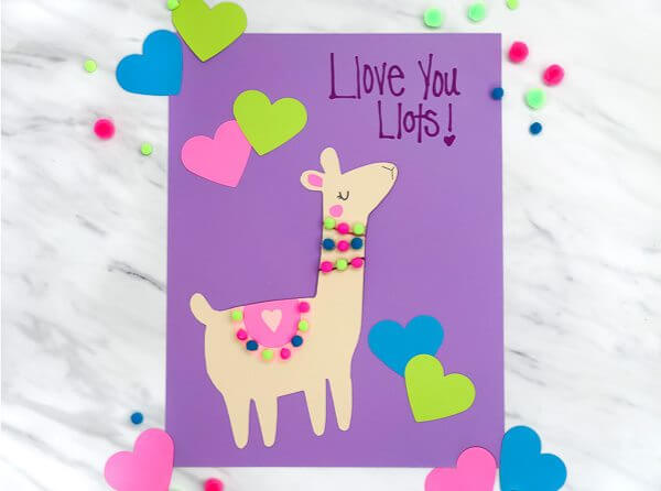 purple card you is the new I love you Purple Color Craft Activities & Fun Ideas for Kids