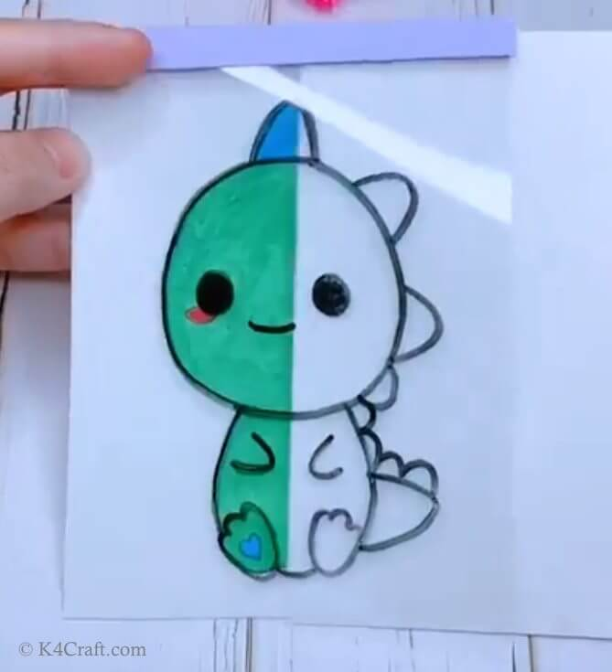 Green day crafts for kids, toddlers, preschool - Classy Cartoon Drawing For Kindergarten