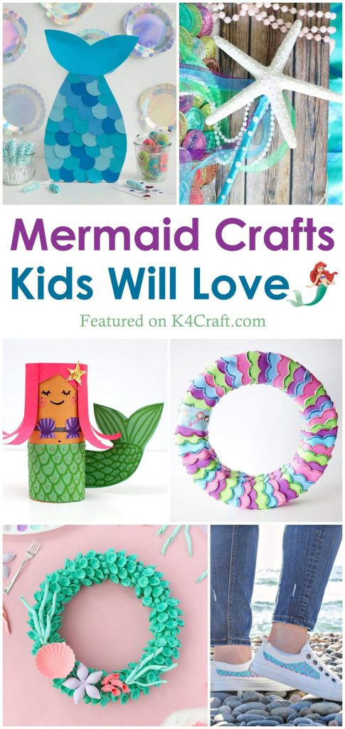 Adorable Mermaid Crafts for Kids Mermaid Crafts Kids Will Love