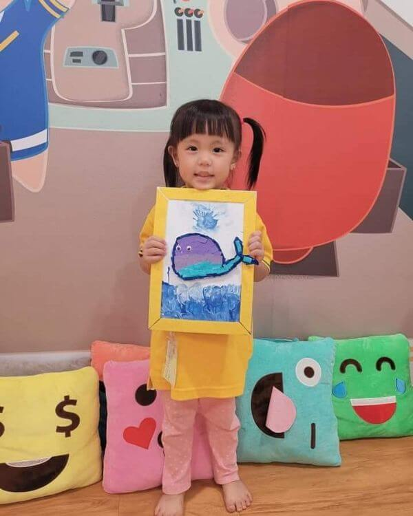 'Fish in the Frame' paper crafts for kids