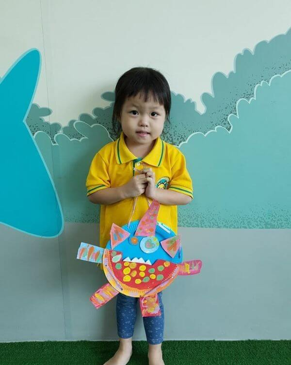 Paper Plate school project idea