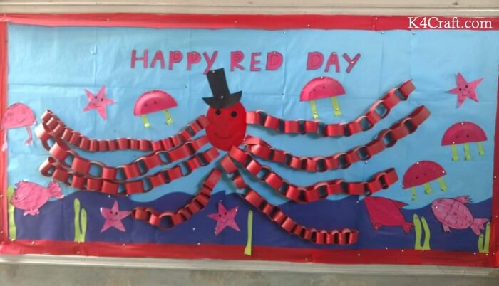 Happy Red Day Craft