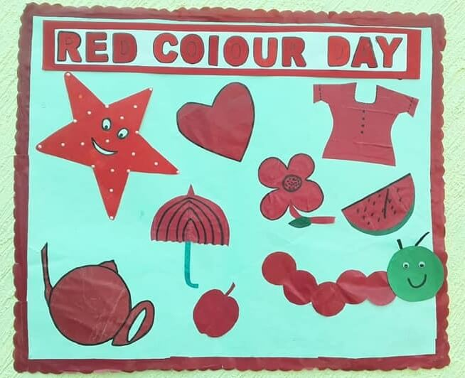 Red Colour Day Craft Red Day Crafts & Activities for Preschool Kids