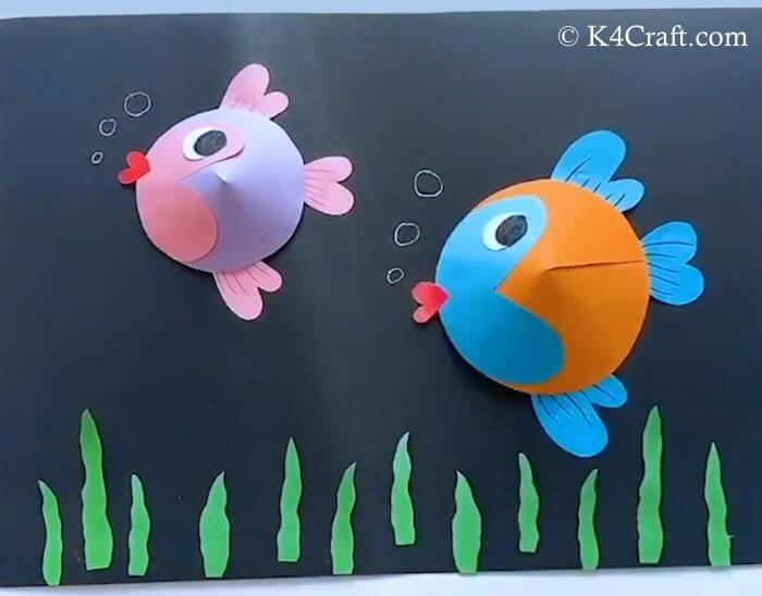 DIY Adorable Fish Activity For Kids