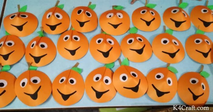 Delicious Mango Craft For Kids