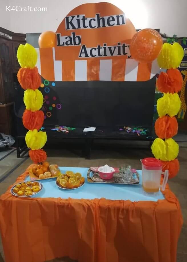 Kitchen Lab Activity Photo Booth