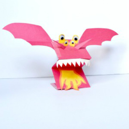 Dragon puppet making crafts DIY Puppet Making Crafts Kids Will Love