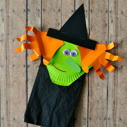Witch puppet making crafts DIY Puppet Making Crafts Kids Will Love