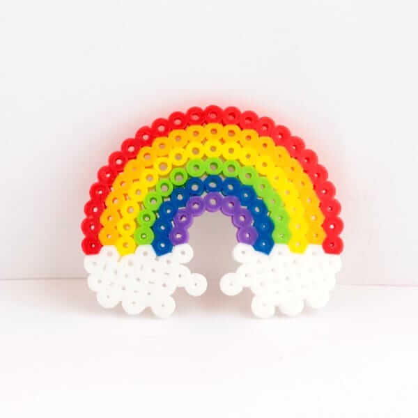 Perler Bead Rainbow crafts