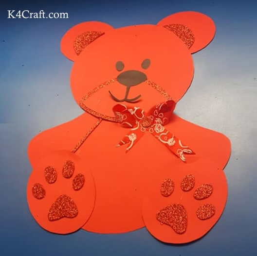 Make Paper Teddy Bear