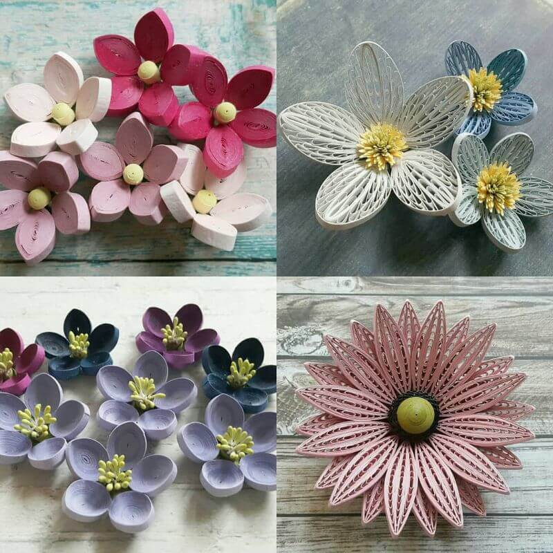 """Pretty quiling designs """"100 Quilling Flower Designs by Hae Kyoung Kim"""" is locked 100 Quilling Flower Designs by Hae Kyoung Kim"""