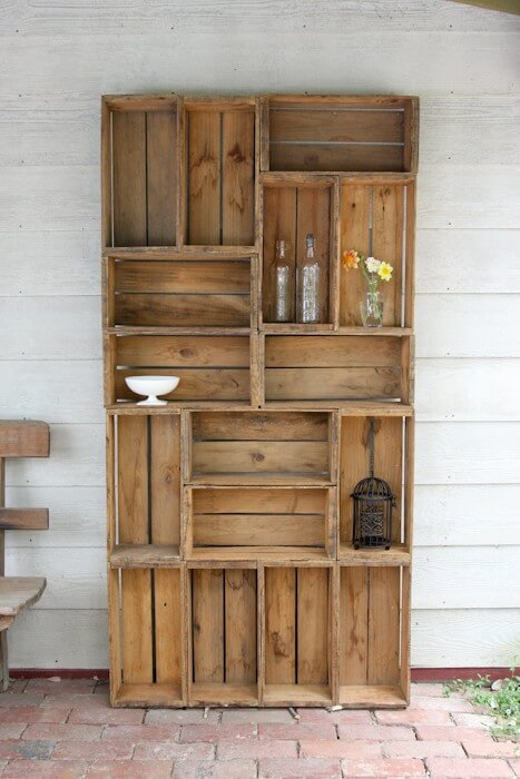 wooden cabinet for home