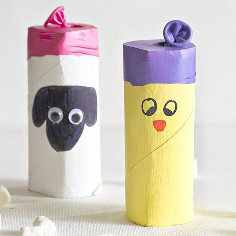 Cool Mushroom shooter Craft For kids Cute Crafts for Kids Made with Love by a Mother