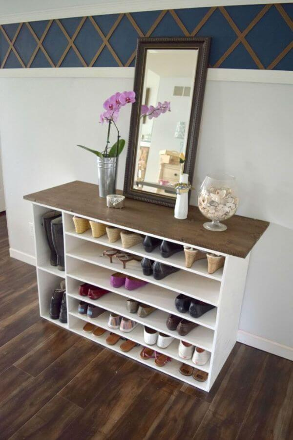 A Cabinet For The Footwear