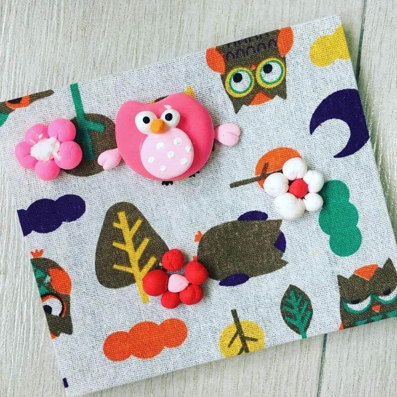Adorable Friends in the Forest with Clay craft for kids