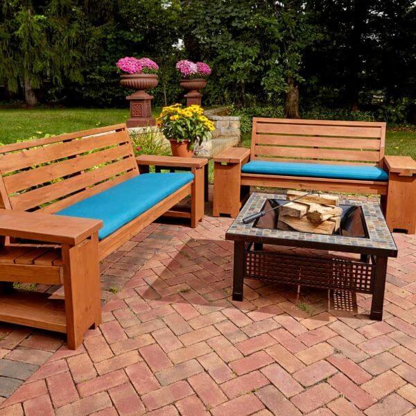 Garden sitting furniture