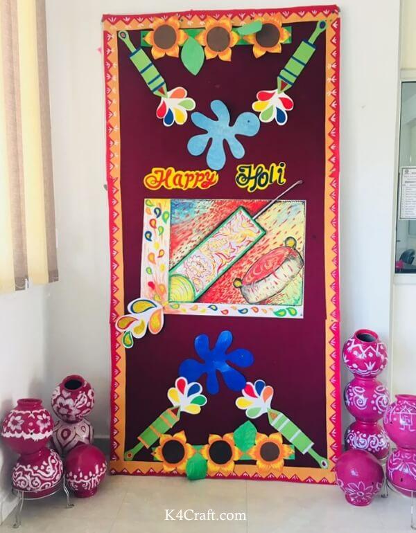 Happy Holi School Board