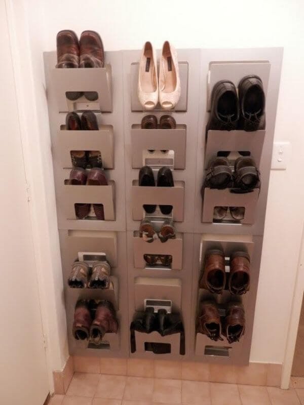 Not Folders, Just Your Shoe Organizers