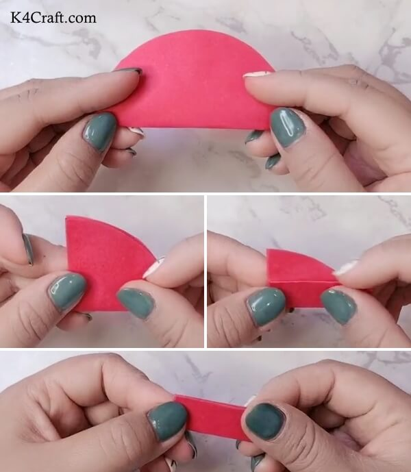 Beautiful 3D Apple craft step by step Tutorial