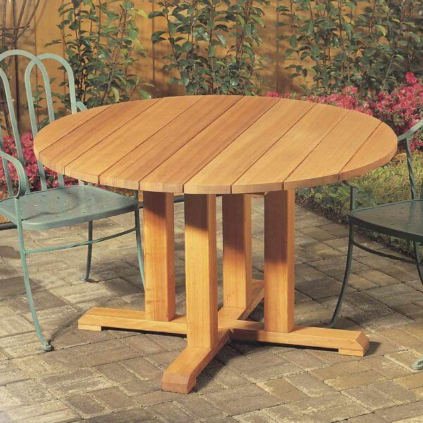 Round Table Wood DIY Project for Home