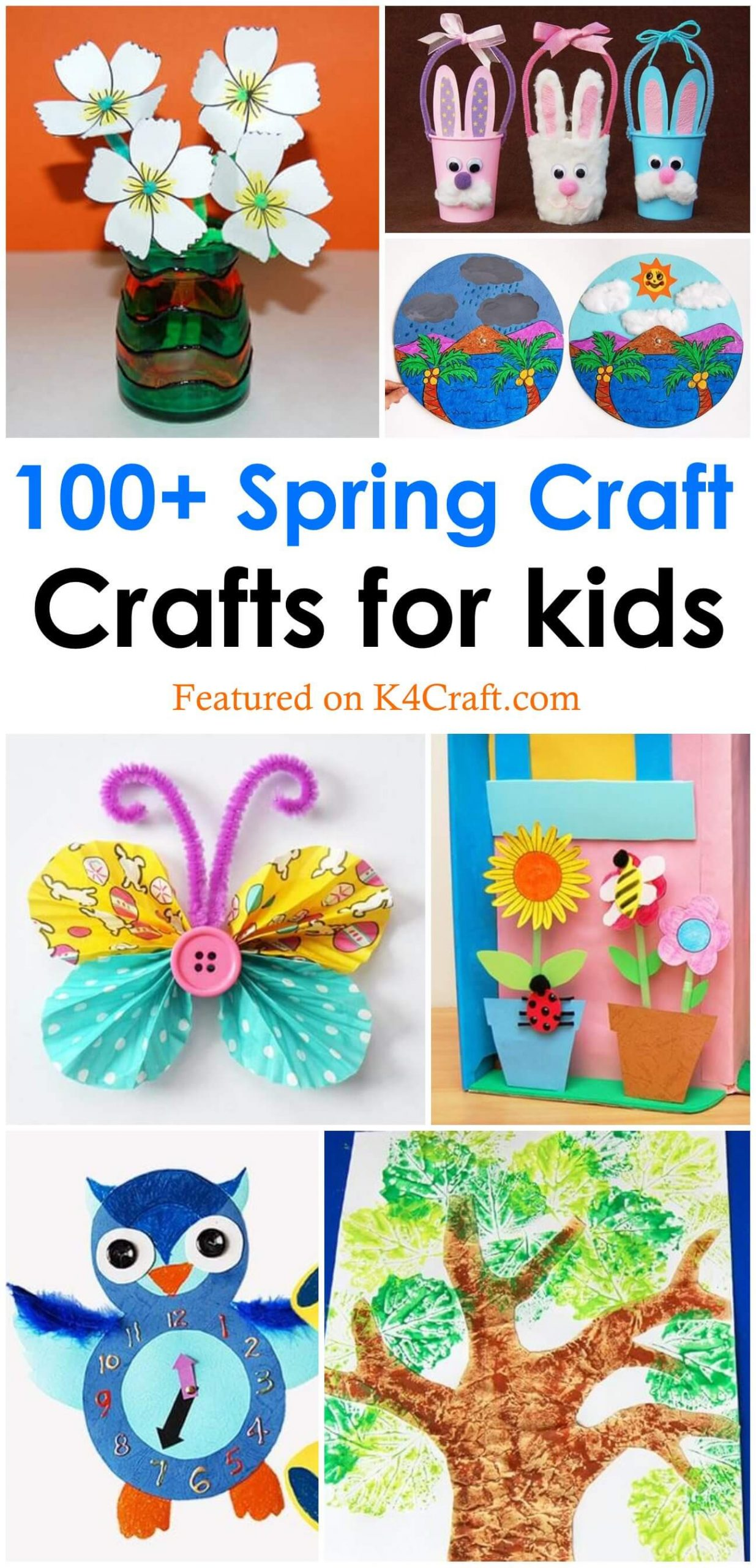 Spring Craft Ideas For Kids Pin K4 Craft