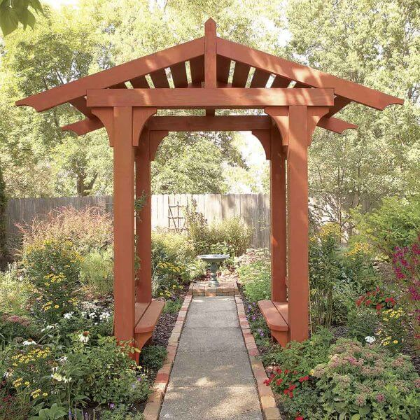Wooden canopy DIY for home Wood DIY Projects for Home