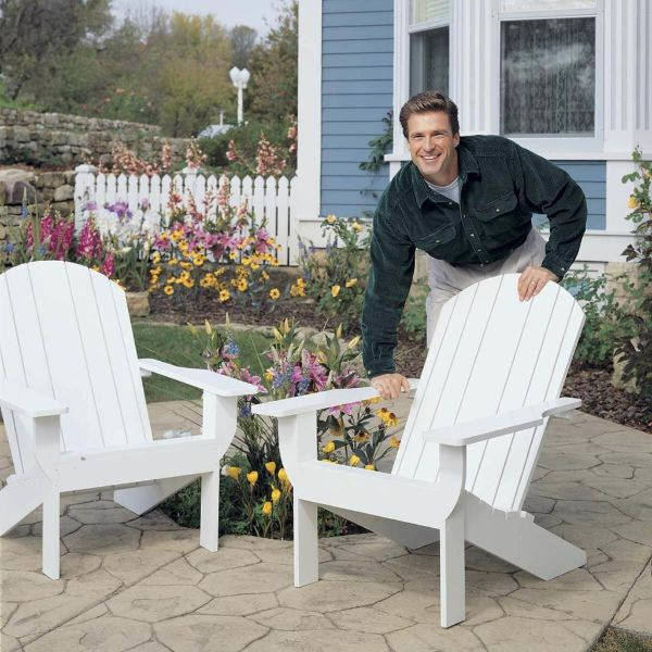 Wooden chairs for Home garden