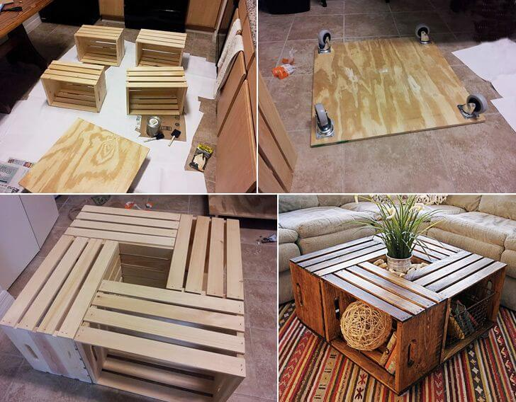 Wooden table DIY Projects for Home