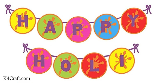 Happy Holi Buntings