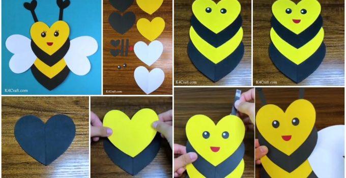 heart-shaped-bee-craft-kids-tutorial/