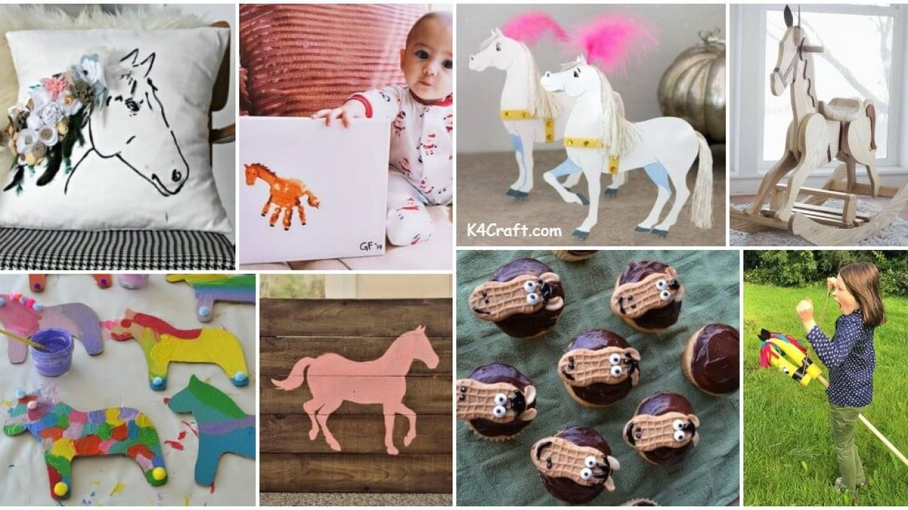 Adorable Horse Craft Ideas To Have Fun With Kids K4 Craft