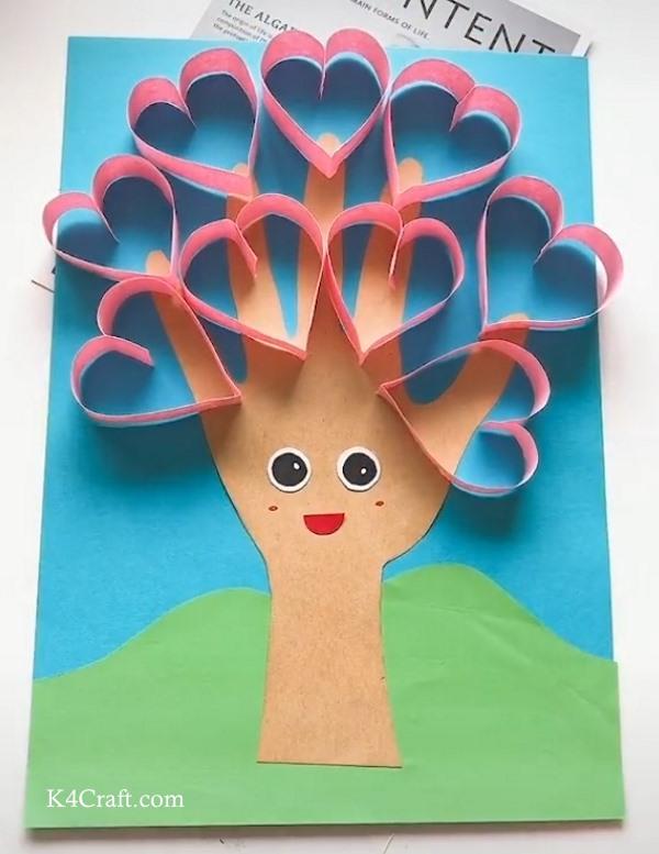 Beautiful Heart shape Paper Card