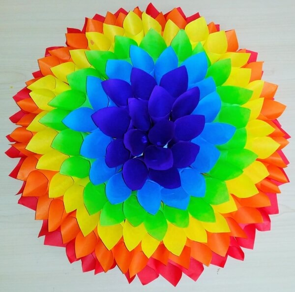 DIY Rainbow Craft For Adults-Rainbow Crafts & Activities