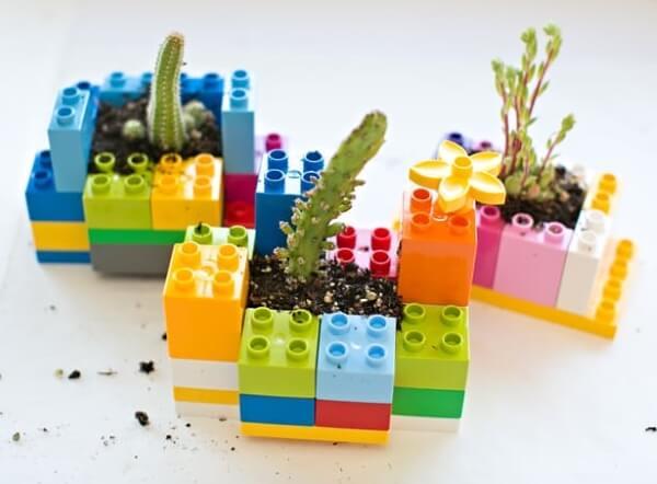 Mini DIY Lego Planters