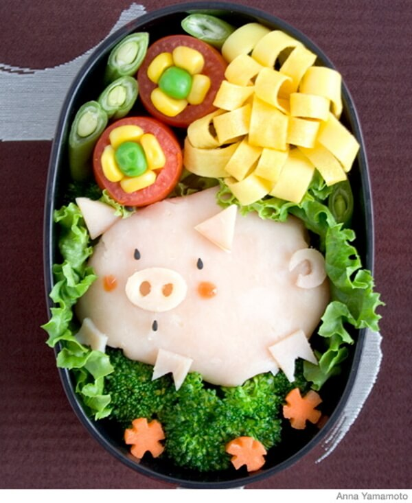 Tasty Salad Decoration - DIY Pig Craft Ideas