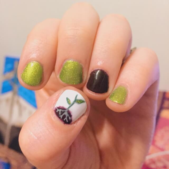 Earth Day with These Adorable Glitter Nail Art Designs
