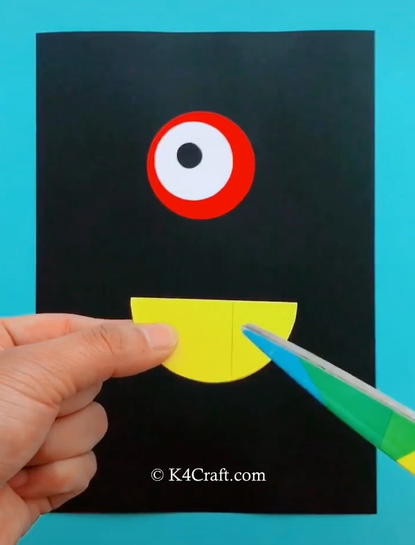 Paper Bird Card Craft for Kids - Step by Step