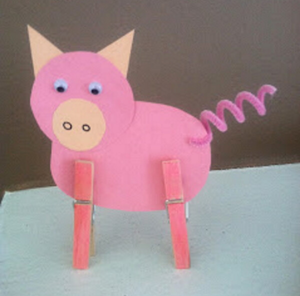 Sweet Pig Craft DIY
