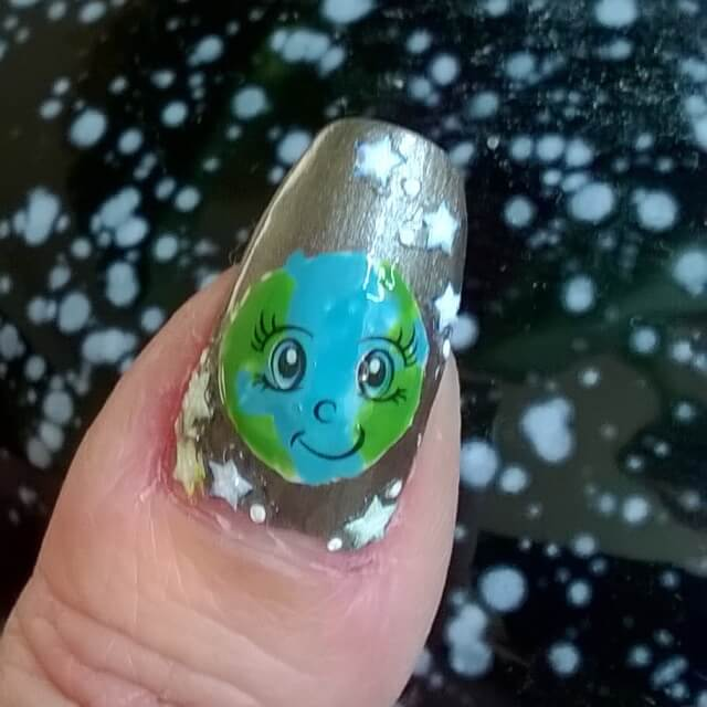 Earth Day with These Adorable Nail Art Designs
