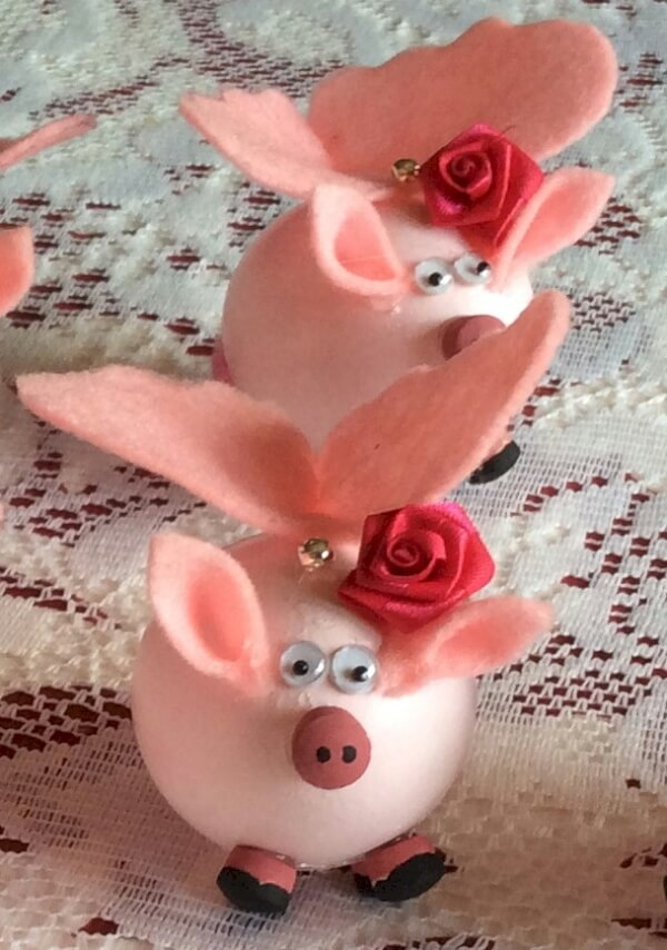 Beautiful Pig Craft