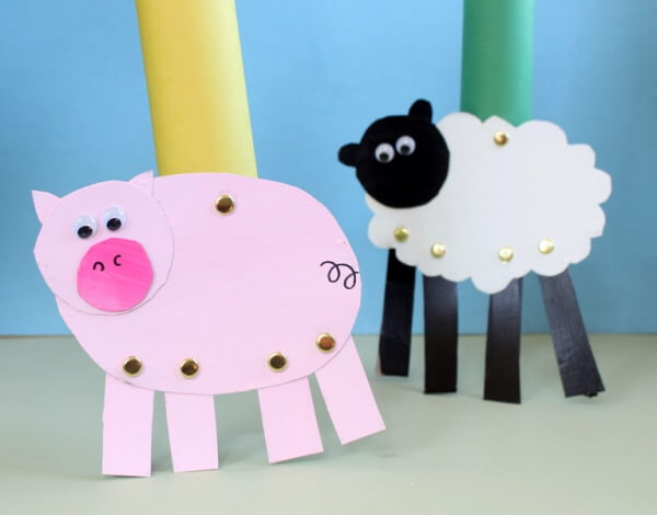 Sweet and Simple Pig Craft