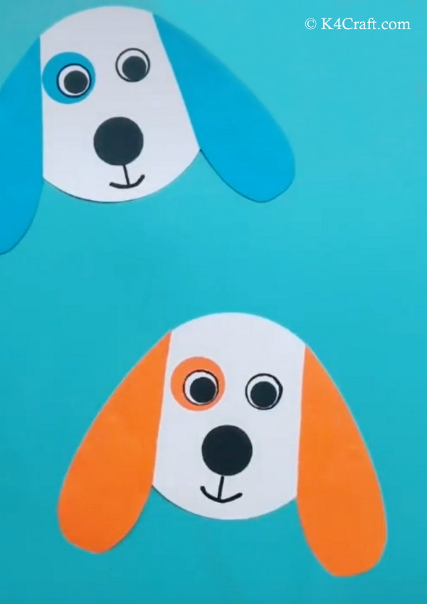 Paper Dog Craft for Kids – Step by Step Tutorial