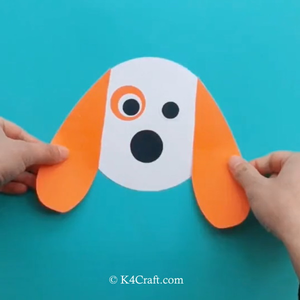 Paper Dog Craft for Kids – Step by Step