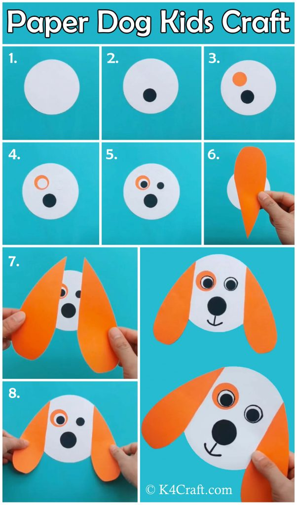 Step By Step Instructions How To Make Origami A Scottie Dog. Stock ... | 1024x602
