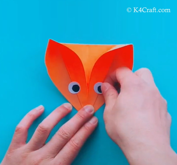 Paper Fox Craft for Kids