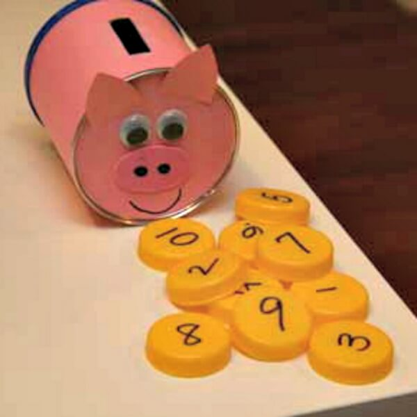 Piggy Bank - DIY Pig Craft Ideas
