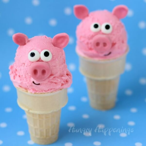 Bubble Ice Cream - DIY Pig Craft Ideas