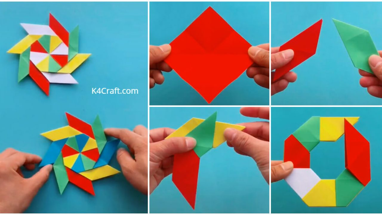 How to make shuriken from paper? – Origami | 720x1280